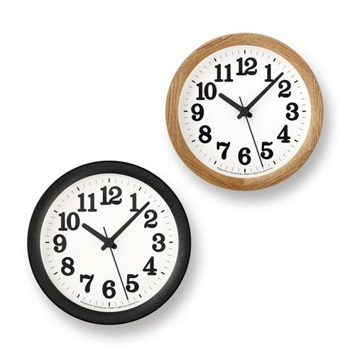 Lemnos レムノス/「Clock C Small クロックシー スモール」掛置兼用時計(YK15-05)