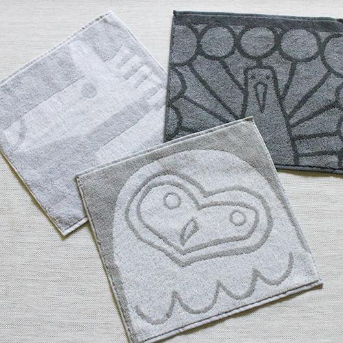 OTTAIPNU オッタイピイヌ/ハンカチタオル 26×26(4種)