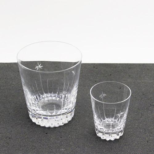h collection+S/廣島晴弥×Spiral Market オリジナル カットグラス「ロイヤルクラウン」(クリスタルショット ・クリスタルロック)