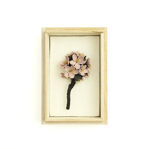 村上伊万里 むらかみいまり/コサージュ 「桜(さくら)」【送料無料】