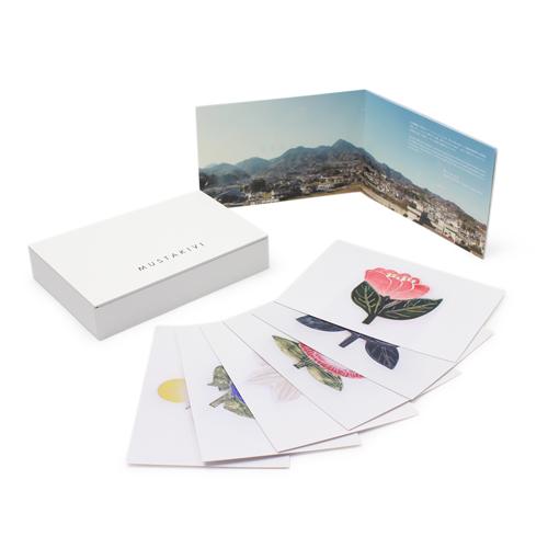 MUSTAKIVI  ムスタキビ/ポストカードブック「石本藤雄展」-Mustakivi Collection-