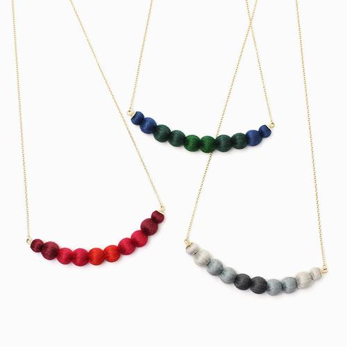 ciito シイト/ネックレス「tsuranari necklace」(3色)