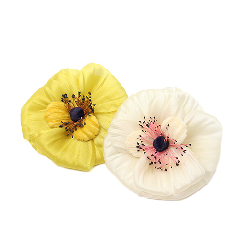 la fleur+S ラ・フルール/riviere リヴィエール「anemone」アネモネのコサージュ(2色)