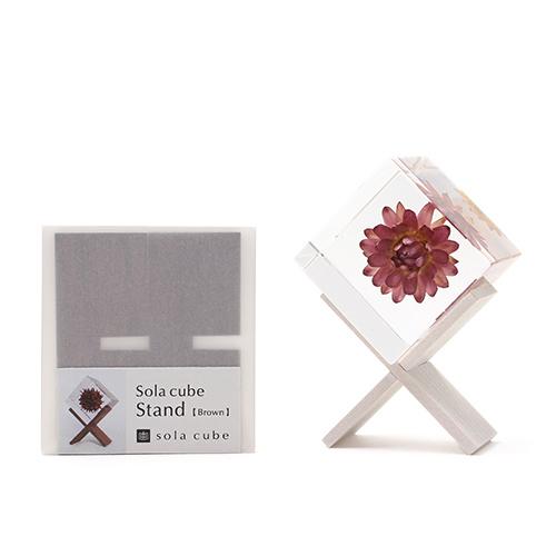 宙-sola- そら/「sola cube ソラキューブ」sola cube stand ソラキューブスタンド(2色)
