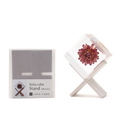 Sola cube ソラキューブ/Sola cube stand ソラキューブスタンド(2色)