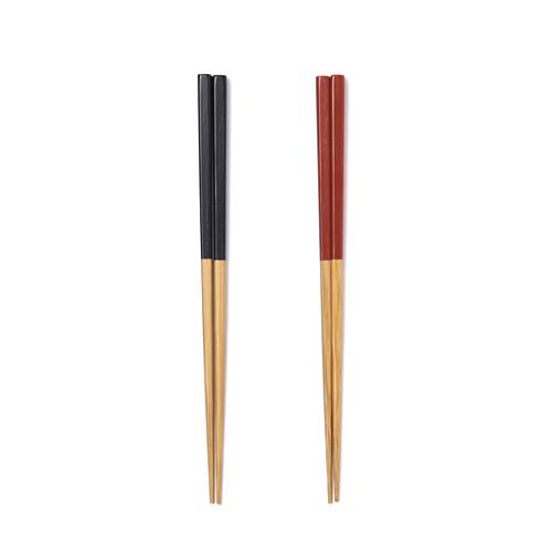 公長齋小菅 こうちょうさいこすが/竹漆弁当箸(2色)