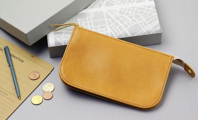 RHYTHMOS リュトモス 限定色 citron シトロン Zip L 財布のイメージ画像