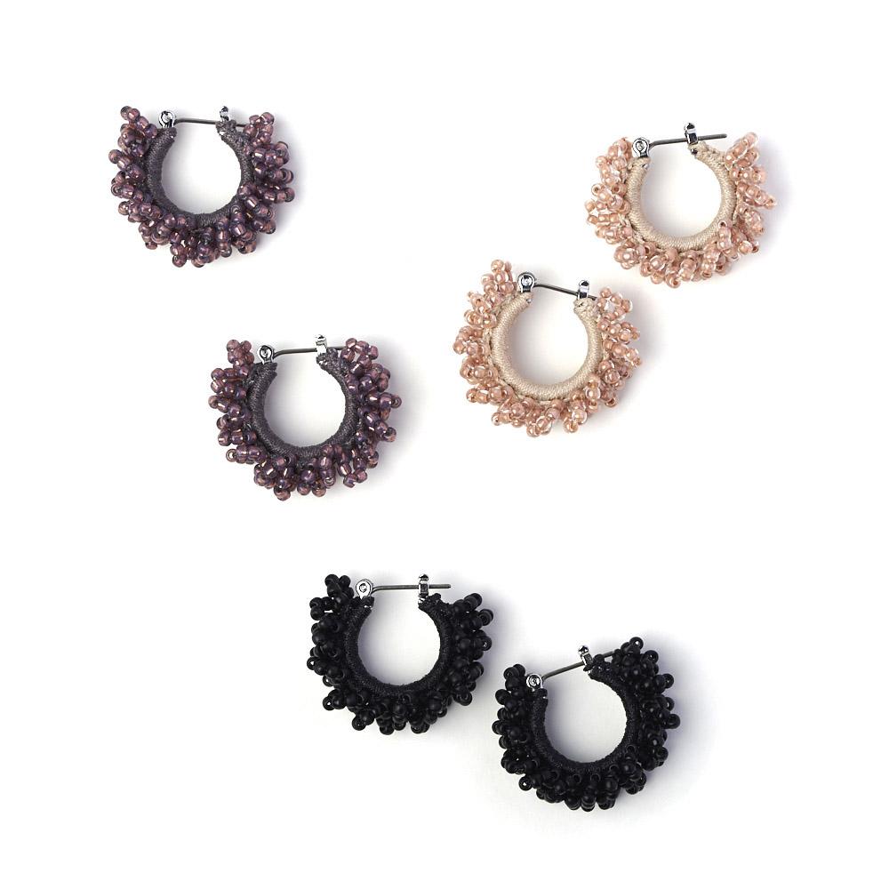 hariknitting ハリニッティング/circle pierce S サークルピアス S(3色)