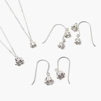 lilys of the valley pierced earring・pendant スズラン ピアス・ネックレス(4種)