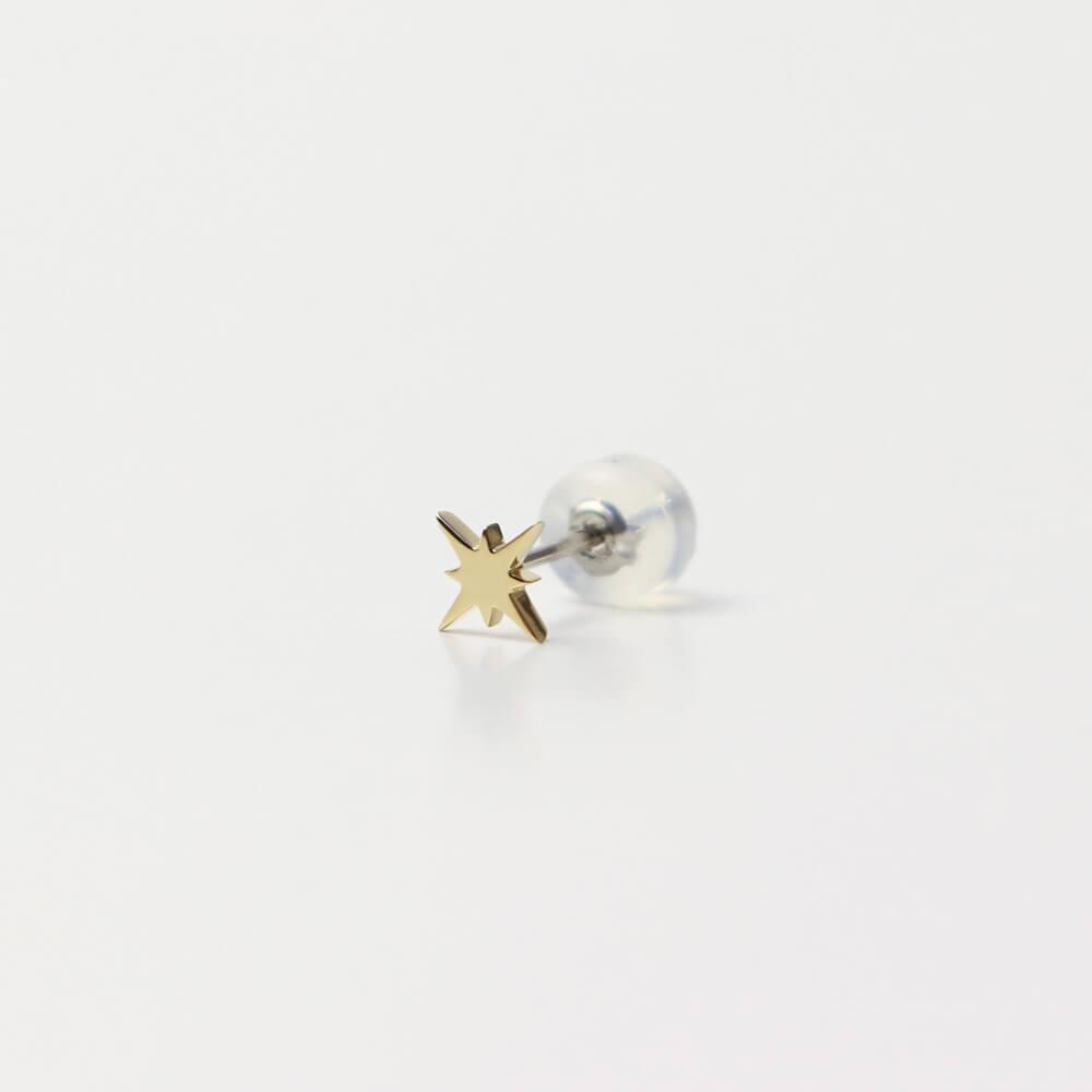 イエローゴールド/6.5mm