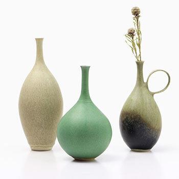 和田麻美子 わだまみこ/花器 3800、4000(7種)【一点もの】