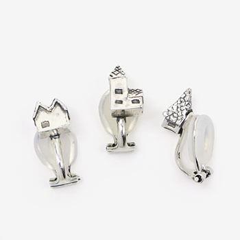archi earring イヤリング 家 シルバー(シングル3種)