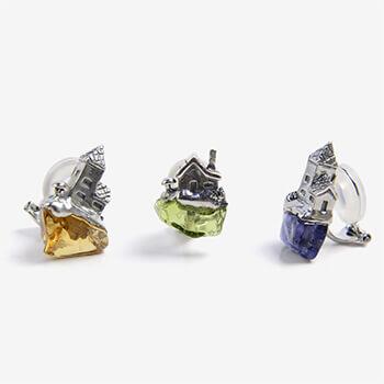 Fillyjonk フィリフヨンカ/roca earring ロカ イヤリング シルバー(シングル6種)