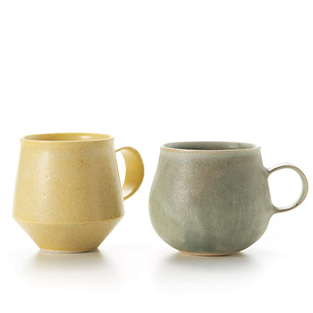 和田麻美子 わだまみこ/マグカップ 2500(6種)【一点もの】