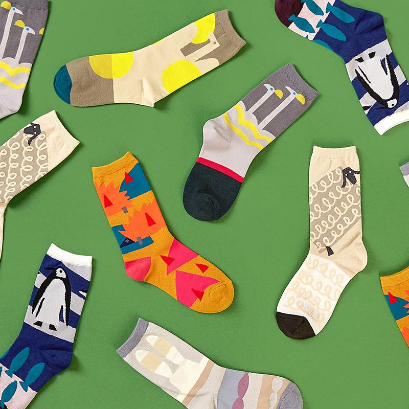 OTTAIPNU×socks appeal/靴下 男女兼用ソックス (フリーサイズ 6種)