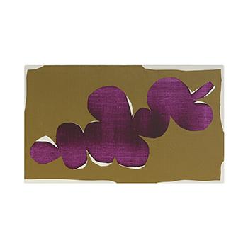 OTTAIPNU オッタイピイヌ/アートパネル「purple×ocher」