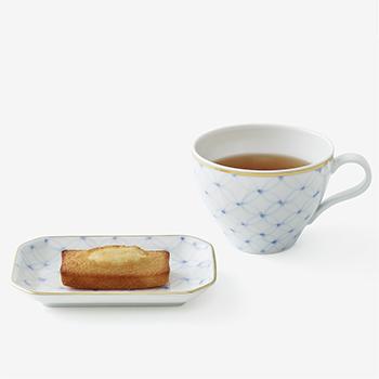 Shizuka Tatsuno 辰野しずか/mg&gk porcelain for financier&tea フィナンシェと紅茶の器 セット(4種)