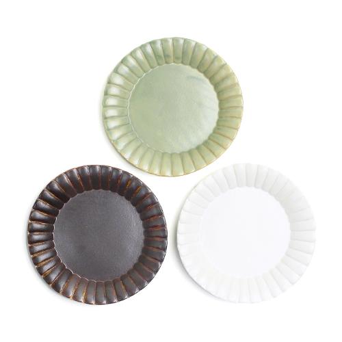 木村香菜子 きむらかなこ/フチ飾り 5寸皿(3色)
