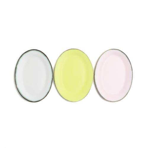 木村香菜子 きむらかなこ/オーバルプレート平皿 S(3色)