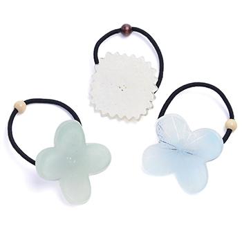 八木麻子 やぎあさこ/「hanakazari」髪飾り ヘアゴム(4種)
