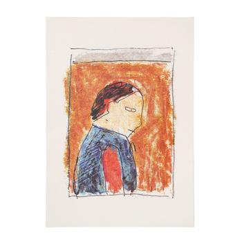 柚木沙弥郎 Samiro Yunoki/宮澤賢治遠景「少年の孤独」
