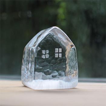 みずのみさ/ガラスハウス 大(5種)【一点もの】
