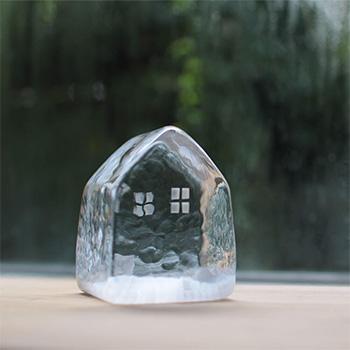 みずのみさ/ガラスハウス 小(5種)【一点もの】
