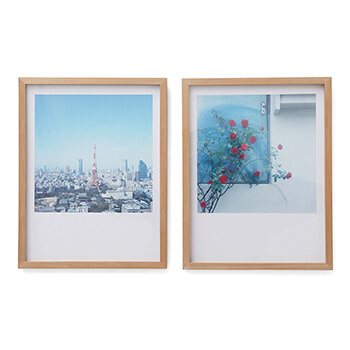 岡崎直哉 Naoya Okazaki/写真作品A 木製額 250×322mm