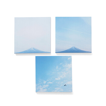 岡崎直哉 Naoya Okazaki/写真作品C 木製パネル 200×200mm