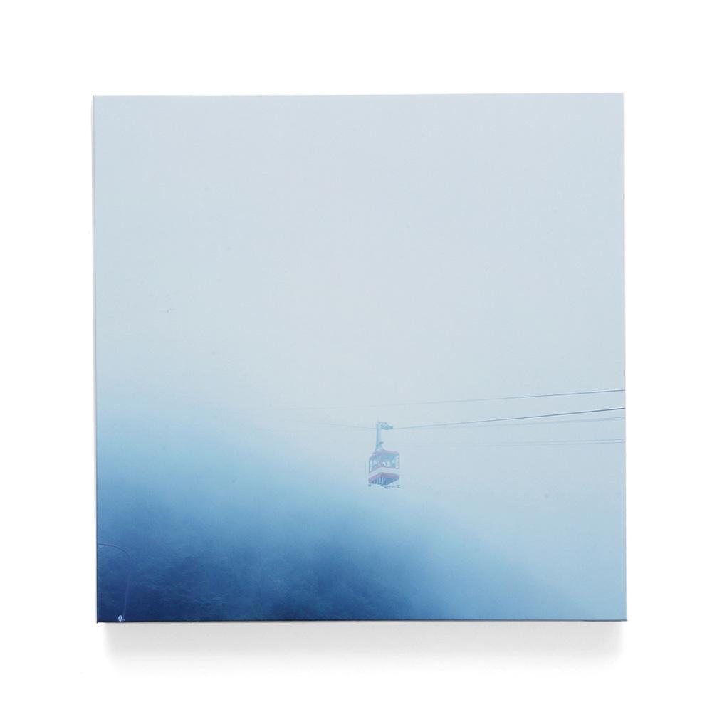 霧につつまれる