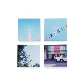 岡崎直哉 Naoya Okazaki/写真作品E 木製パネル140×140mm