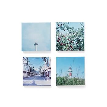 岡崎直哉 Naoya Okazaki/写真作品F 木製パネル 140×140mm